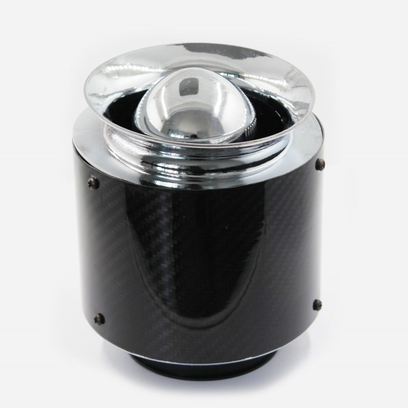 Filtro de aire carbono 75mm