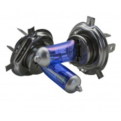 Bombillas halogena H4 azul...