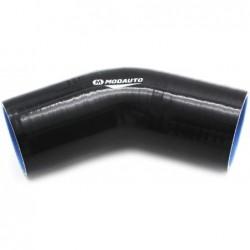 Tubo silicona 45 - 70mm negro