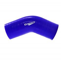 Tubo silicona 45 - 57mm azul