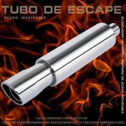Tubo de escape 6015