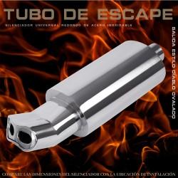 Tubo de escape 6007