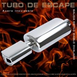 Tubo de escape 6008