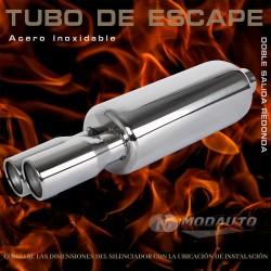 Tubo de escape 6052