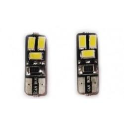Bombilla LED T10 Can-bus 6 LED
