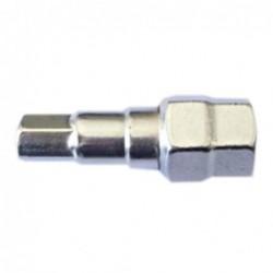 Adaptador para tornillo hueco hexagonal